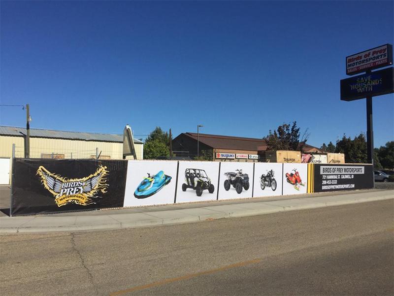 Birds Of Prey Motorsports >> Industrial Fencing Boise Meridian Eagle Nampa Caldwell