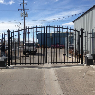 automatic gate install