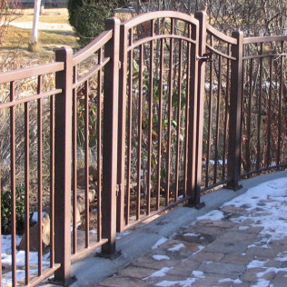 decorative iron fencing