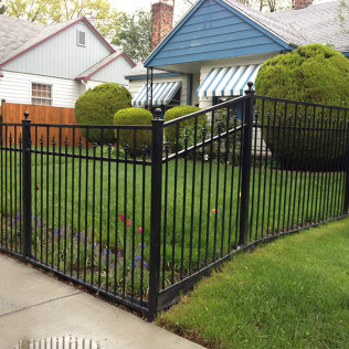 residential iron fencing