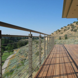 deck rail installation