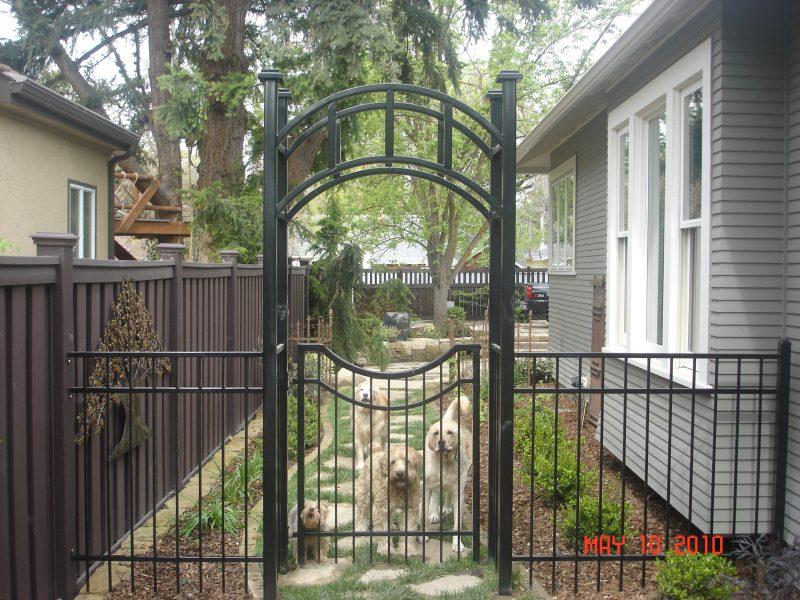 Ornamental Iron Gates Boise Meridian Eagle Nampa