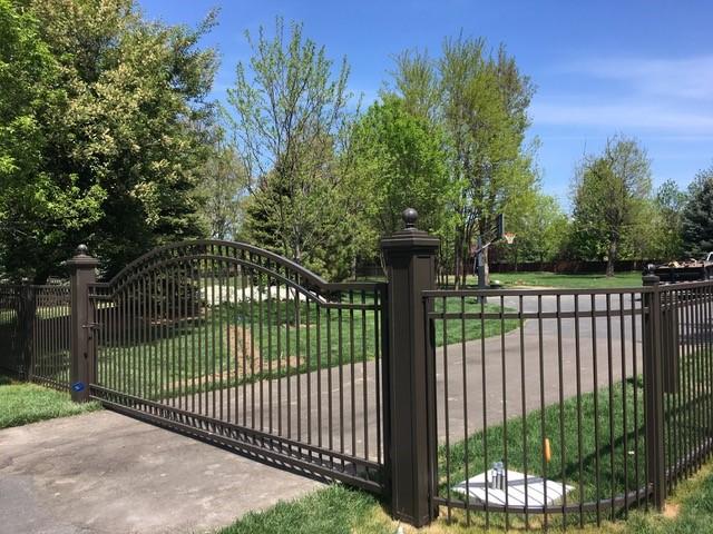 custom gate-radius panels